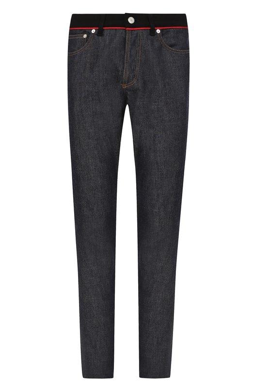Однотонные джинсы прямого кроя Givenchy
