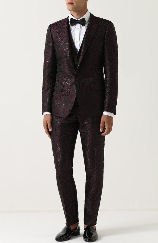 Купить Смокинг-тройка с вышивкой Dolce & Gabbana Италия 5189160 0101/GK75MT/FJM2P