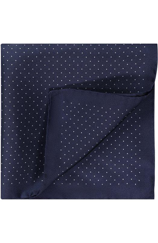 Шелковый платок с принтом HUGO