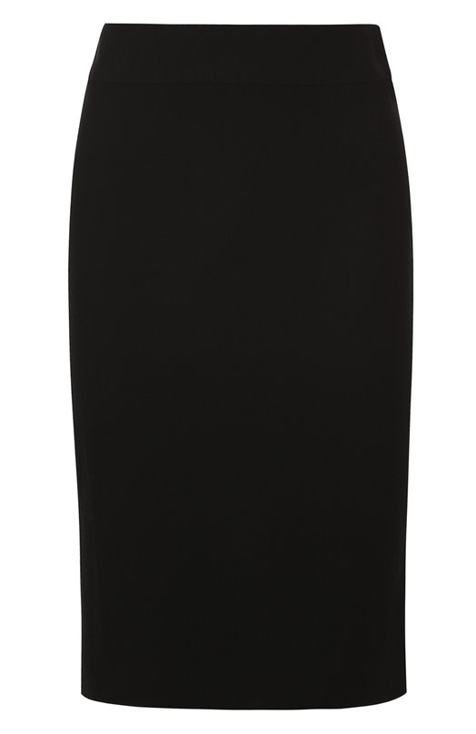 Шерстяная юбка-карандаш Armani Collezioni