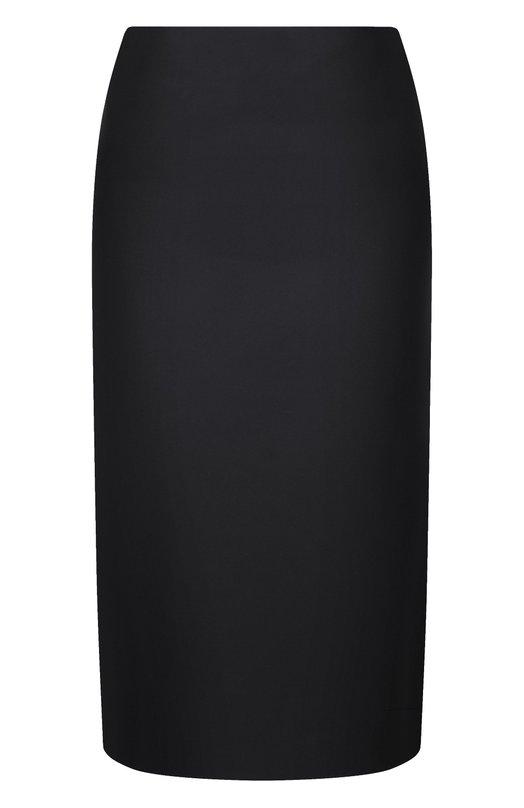 Однотонная юбка-карандаш Marni