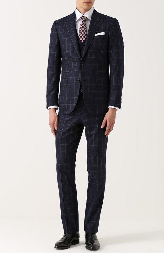 Купить Шерстяной костюм-тройка Corneliani Италия 5189386 80/8268-7817265