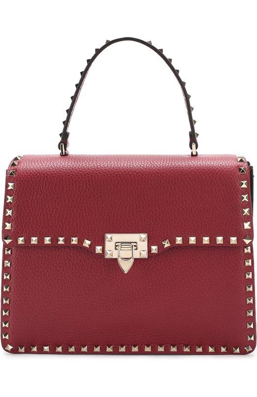 Купить Сумка Rockstud Valentino, NW2B0142/VSF, Италия, Красный, Кожа натуральная: 100%;