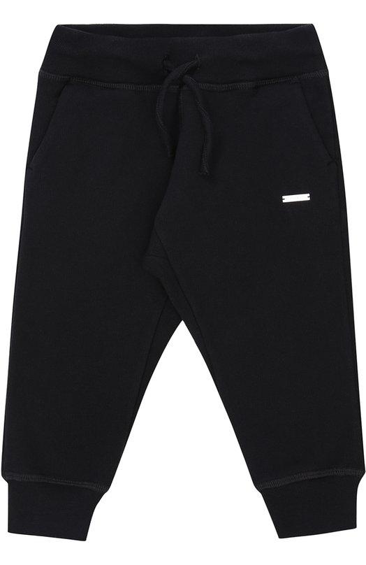 Купить Спортивные брюки из хлопка Dsquared2, DQ02G1-D00Q8, Италия, Синий, Хлопок: 100%;