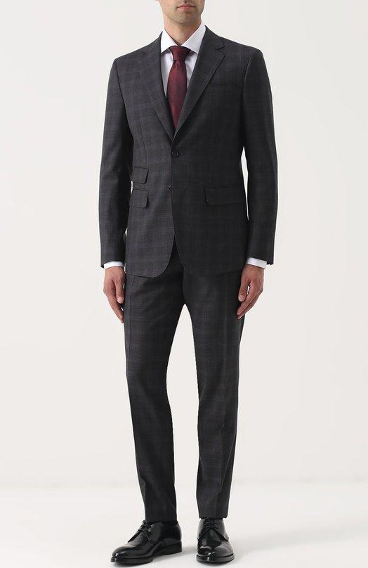 Купить Шерстяной костюм с пиджаком на двух пуговицах Dsquared2 Италия 5190142 S74FT0303/S45256