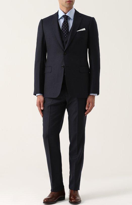 Купить Приталенный шерстяной костюм-тройка Armani Collezioni Болгария 5193165 ZCYMEB/ZC000