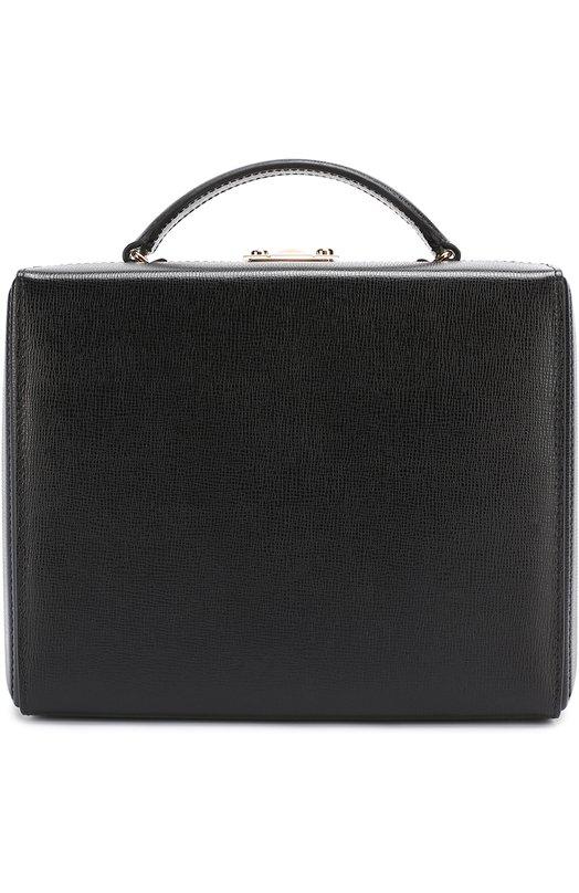 Купить Сумка Grace Large Box Mark Cross, W107185G, Италия, Черный, Кожа натуральная: 100%;