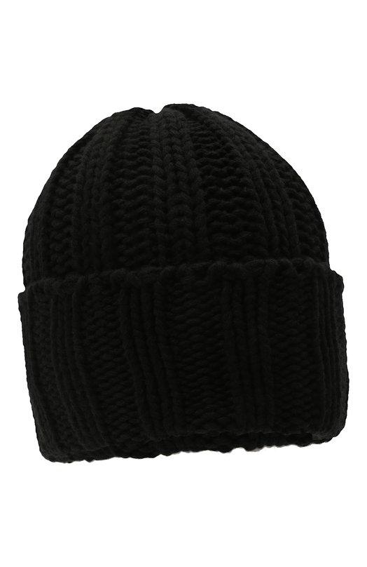 Купить Кашемировая шапка фактурной вязки Inverni, 2924CM, Италия, Черный, Кашемир: 100%;