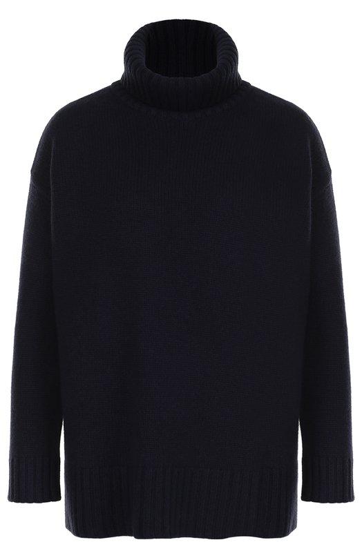 Купить Кашемировый свитер свободного кроя Paul&Joe, GNAP0LIE, Китай, Темно-синий, Кашемир: 100%;
