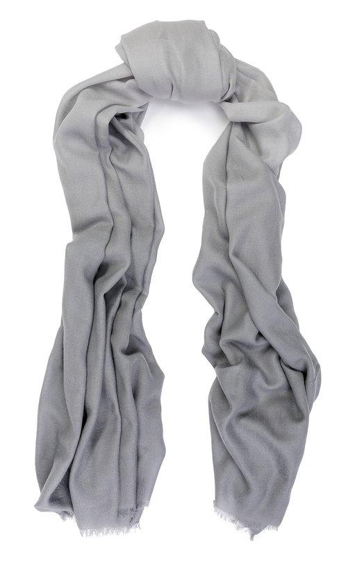 Купить Шерстяной шарф с градиентным рисунком Armani Collezioni, 695228/7A723, Китай, Серый, Шерсть: 100%;