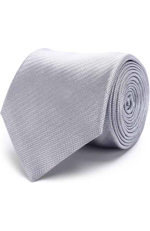 Купить Шелковый галстук с узором Brioni Италия 5195508 062I/0640S