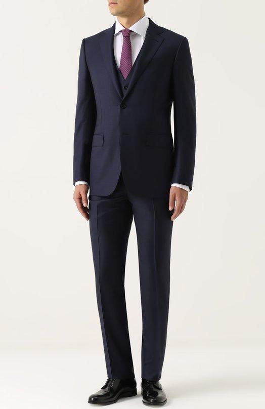 Купить Шерстяной костюм-тройка Ermenegildo Zegna Швейцария 5194044 222636/321225