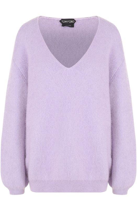 Купить Пуловер свободного кроя с V-образным вырезом Tom Ford Италия 5191088 MAK752-YAX146