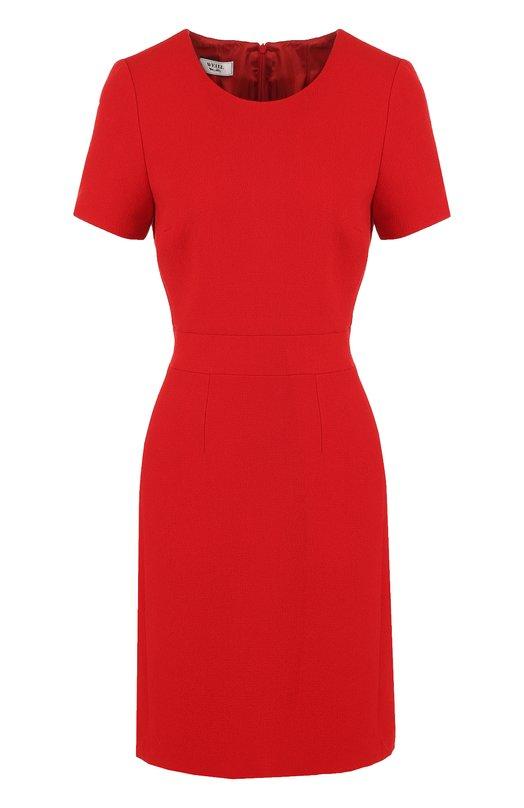 Купить Приталенное мини-платье с круглым вырезом Weill Польша 5196195 175042