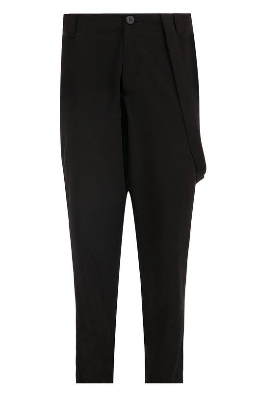 Купить Шерстяные брюки свободного кроя Isabel Benenato Италия 5194323 UW05F17