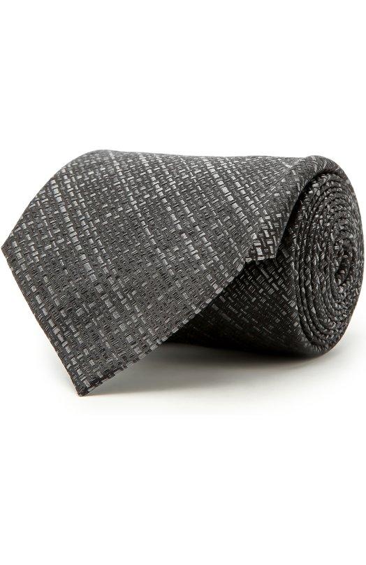 Купить Шелковый галстук Tom Ford, 2TF18/XTF, Италия, Черный, Шелк: 100%;