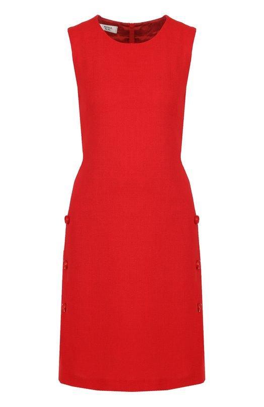 Купить Приталенное платье-миди без рукавов Weill, 175009, Польша, Красный, Подкладка-ацетат: 58%; Подкладка-вискоза: 42%; Шерсть: 100%;