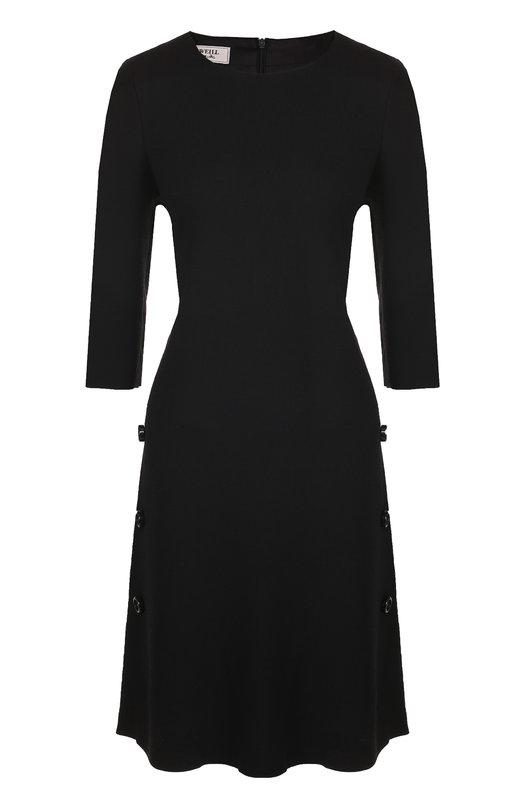 Купить Приталенное платье-миди с укороченным рукавом Weill Польша 5196194 175012