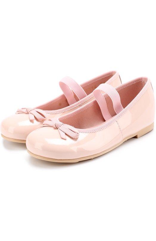 Купить Балетки из лаковой кожи с бантами Pretty Ballerinas, 40.997/9.031/SHADE, Испания, Розовый, Кожа натуральная: 100%; Стелька-кожа: 100%; Подошва-резина: 100%; Подкладка-текстиль: 100%; Кожа: 100%;