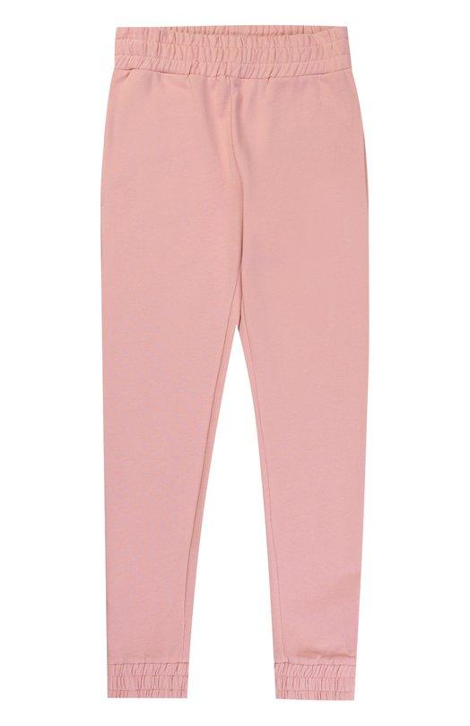 Купить Спортивные брюки из хлопка с контрастными молниями Stella McCartney, 471695/SJJ41, Китай, Розовый, Хлопок: 100%;