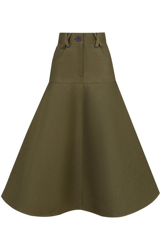 Купить Расклешенная юбка-миди с карманами Walk of Shame Россия HE00378570 SK009-PF17