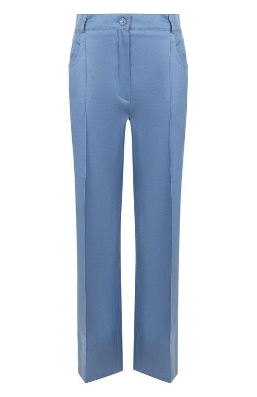 Купить Расклешенные брюки из смеси шерсти и шелка Nina Ricci Венгрия 5196431 17ACPA003WV0212