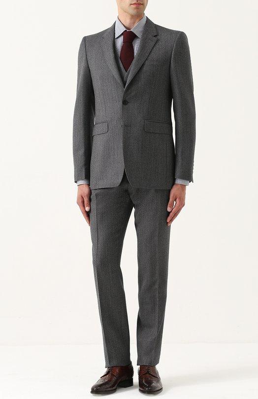 Купить Шерстяной костюм-тройка Burberry Италия 5193762 4055877