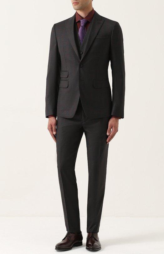 Шерстяной костюм-тройка Dsquared2 Италия 5194007 S74FS0013/S47910  - купить со скидкой