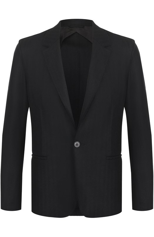 Шерстяной однобортный пиджак Lanvin