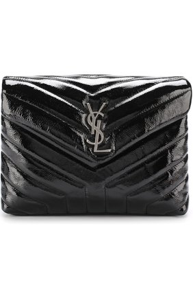 Сумка LouLou Monogram medium Saint Laurent черная | Фото №1