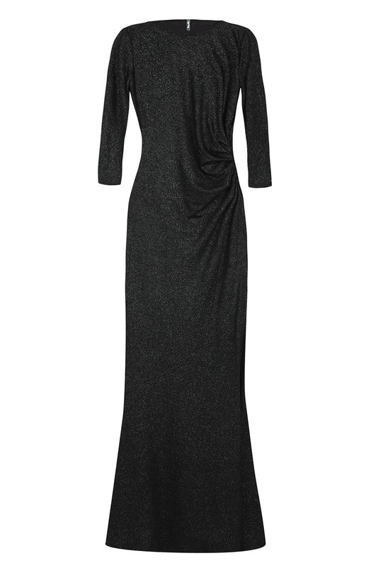 Купить Приталенное платье-макси с укороченным рукавом и драпировкой Weill Польша 5196197 375101