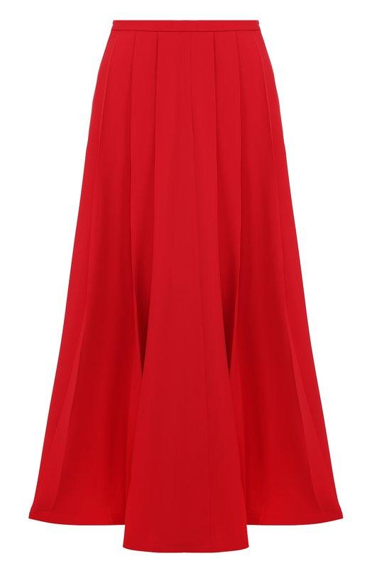 Шелковая юбка-макси со складками Giorgio Armani