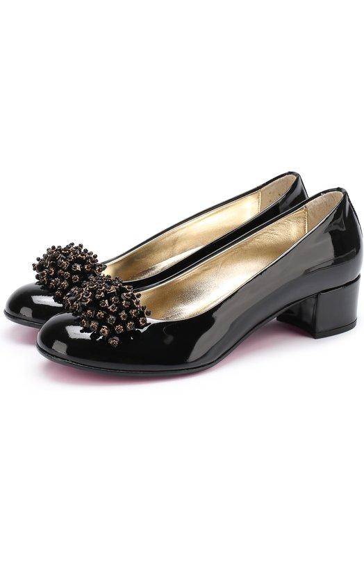 Лаковые туфли с декором Missouri