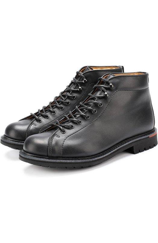 Купить Кожаные ботинки на шнуровке Church's Великобритания 5197127 ETC021/9NN