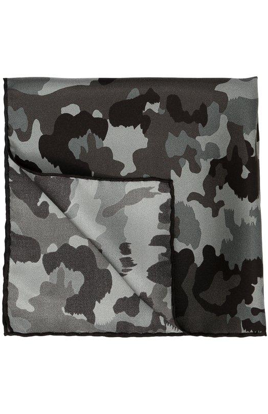 Шелковый платок с камуфляжным принтом Tom Ford