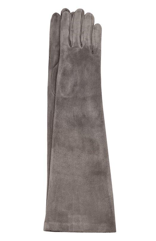 Удлиненные замшевые перчатки Sermoneta Gloves Sermoneta Gloves