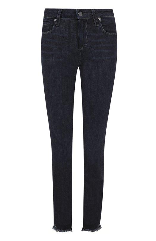 Укороченные джинсы-скинни с потертостями Paige 3847A98-4743