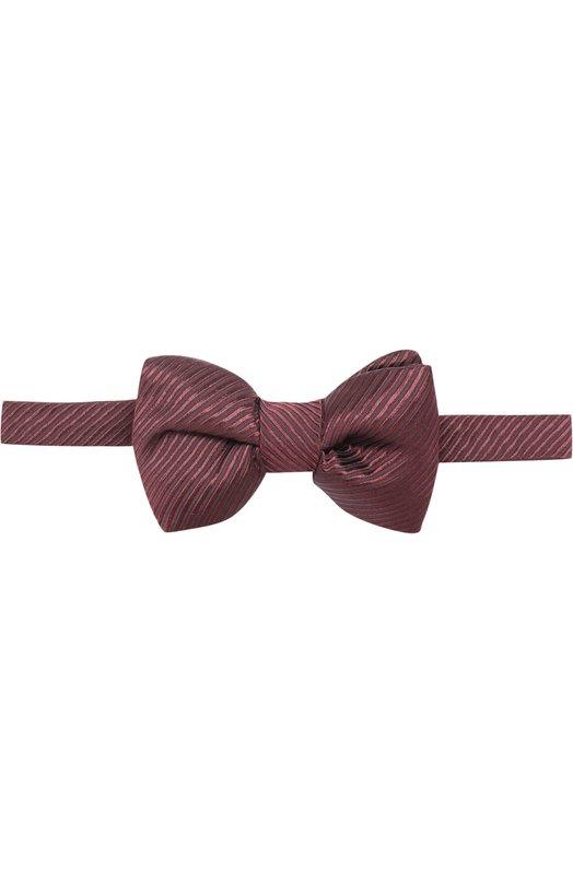 Купить Шелковый галстук-бабочка Tom Ford, 2TF07/4CH, Италия, Бордовый, Шелк: 100%;
