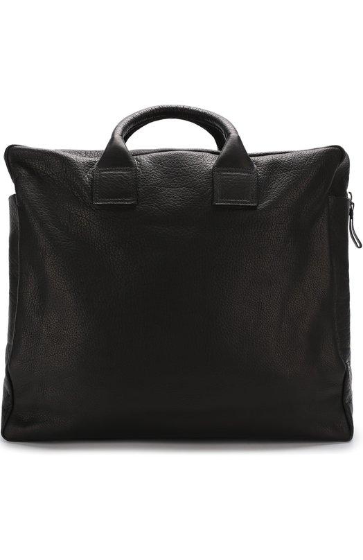 Кожаная дорожная сумка с плечевым ремнем Marsell