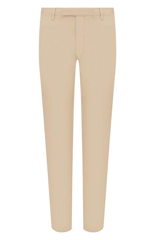 Купить Хлопковые брюки Polo Ralph Lauren, 710644988, Индонезия, Бежевый, Хлопок: 97%; Эластан: 3%;