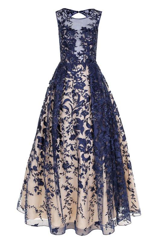 Купить Приталенное платье-макси с открытой спиной Basix Black Label Китай 5202336 D8247L
