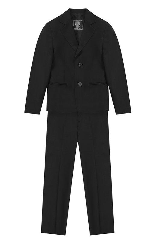 Костюм из шерсти с пиджаком на двух пуговицах Dal Lago