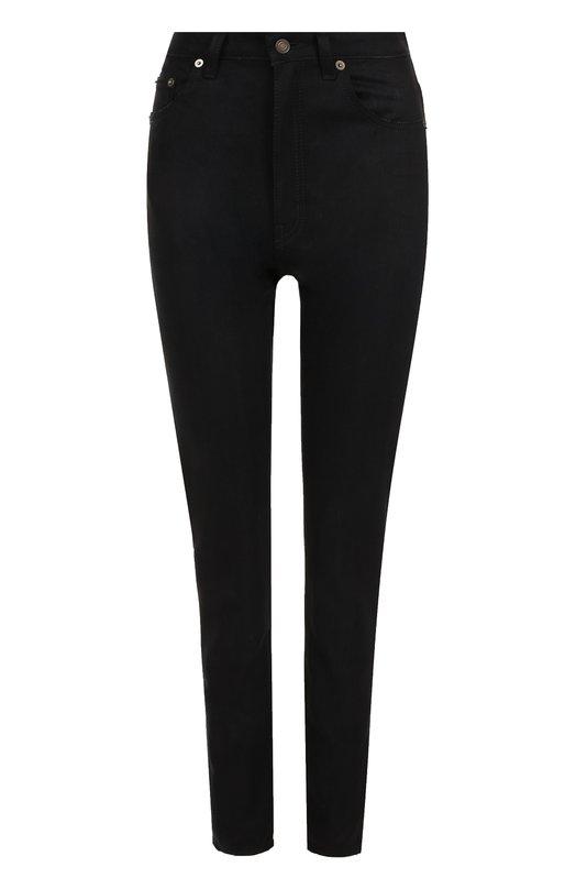 Однотонные джинсы прямого кроя Saint Laurent Saint Laurent