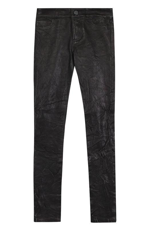 Купить Укороченные кожаные брюки-скинни Paige, 3153A13-1086, Китай, Черный, Кожа натуральная: 100%; Кожа: 100%;