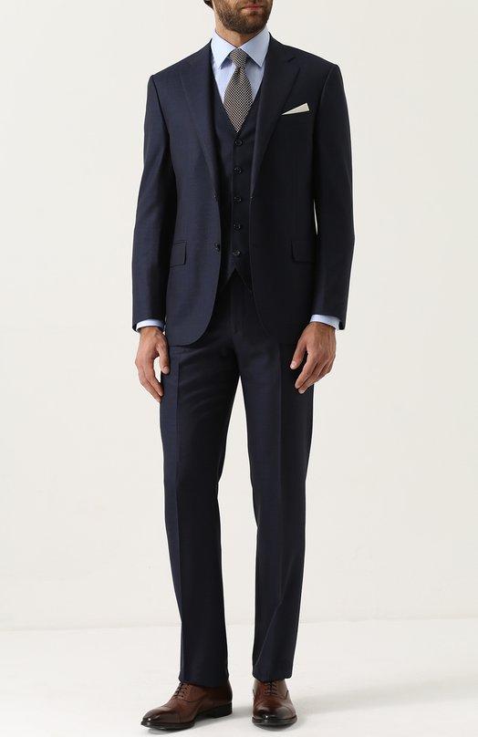Купить Шерстяной костюм-тройка Corneliani Италия 5189766 80/8268-7817072