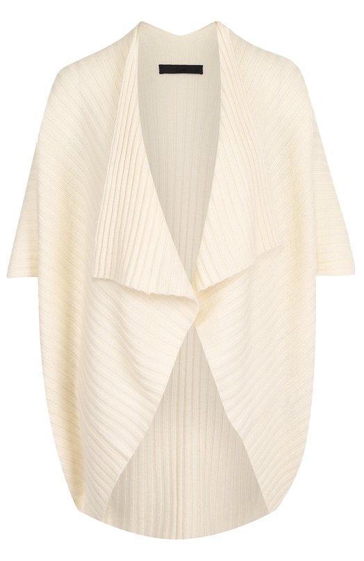 Купить Шерстяной кардиган фактурной вязки Tegin, 2833, Монголия, Кремовый, Шерсть: 100%;