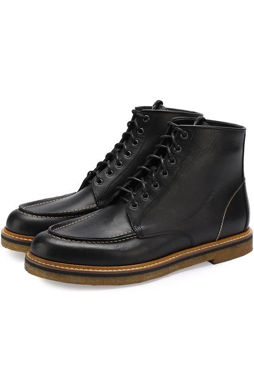 Купить Высокие кожаные ботинки на шнуровке O.X.S. Италия 5201174 9R3621U.R64N060101