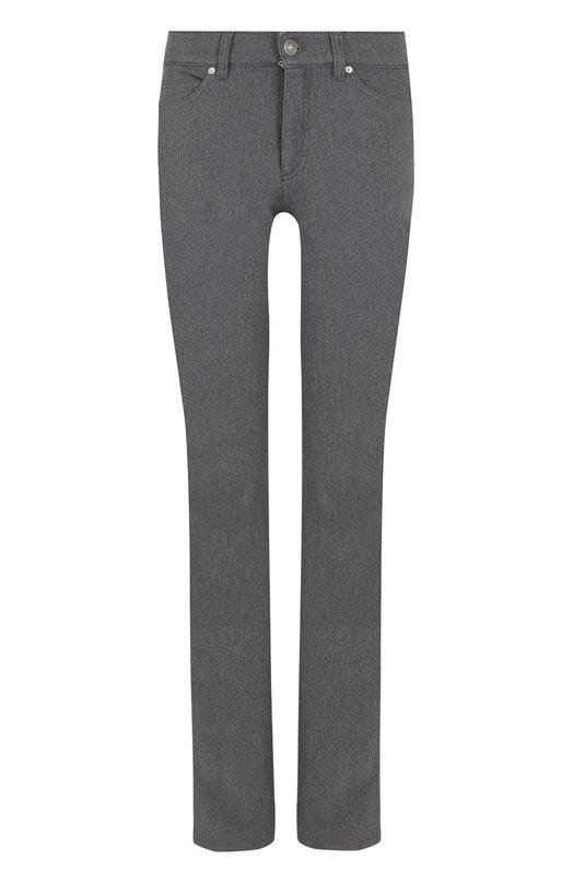 Купить Однотонные джинсы прямого кроя Escada Sport, 5011861, Румыния, Серый, Хлопок: 95%; Эластан: 5%;