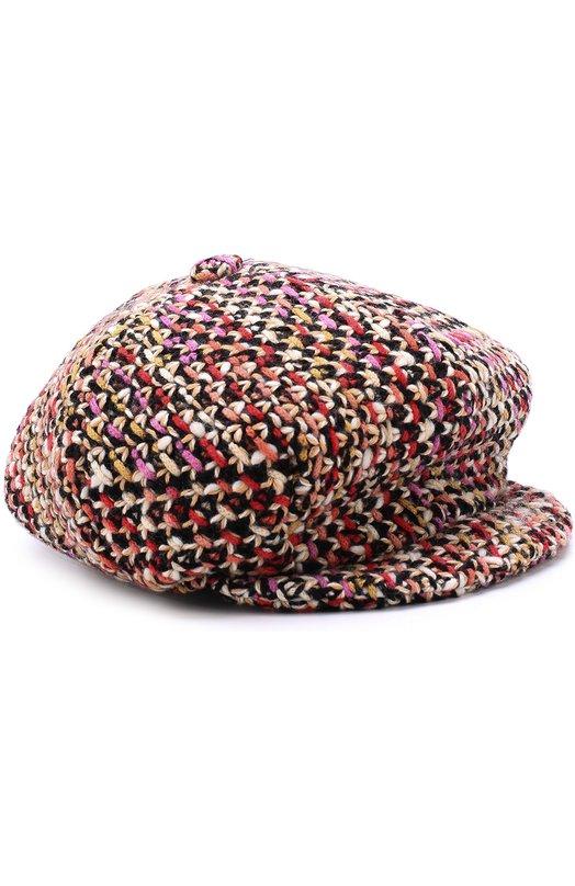 Купить Кепи из смеси шерсти и кашемира фактурной вязки Missoni Италия 5202623 I17.BA.215883