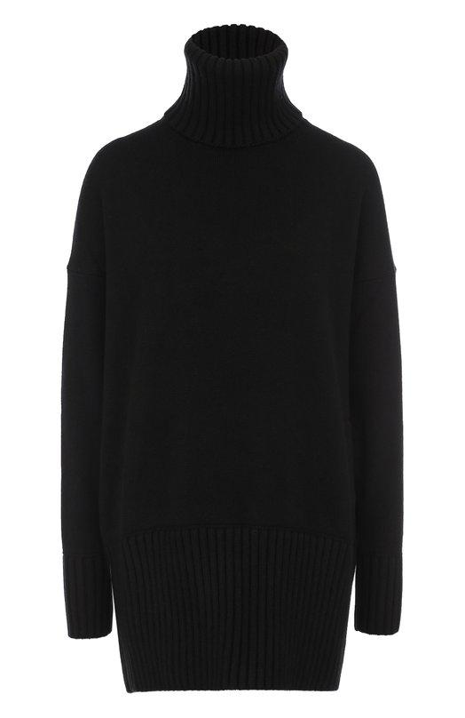 Купить Удлиненный кашемировый свитер Dolce & Gabbana, 0102/FR612K/F84AV, Италия, Черный, Кашемир: 100%;